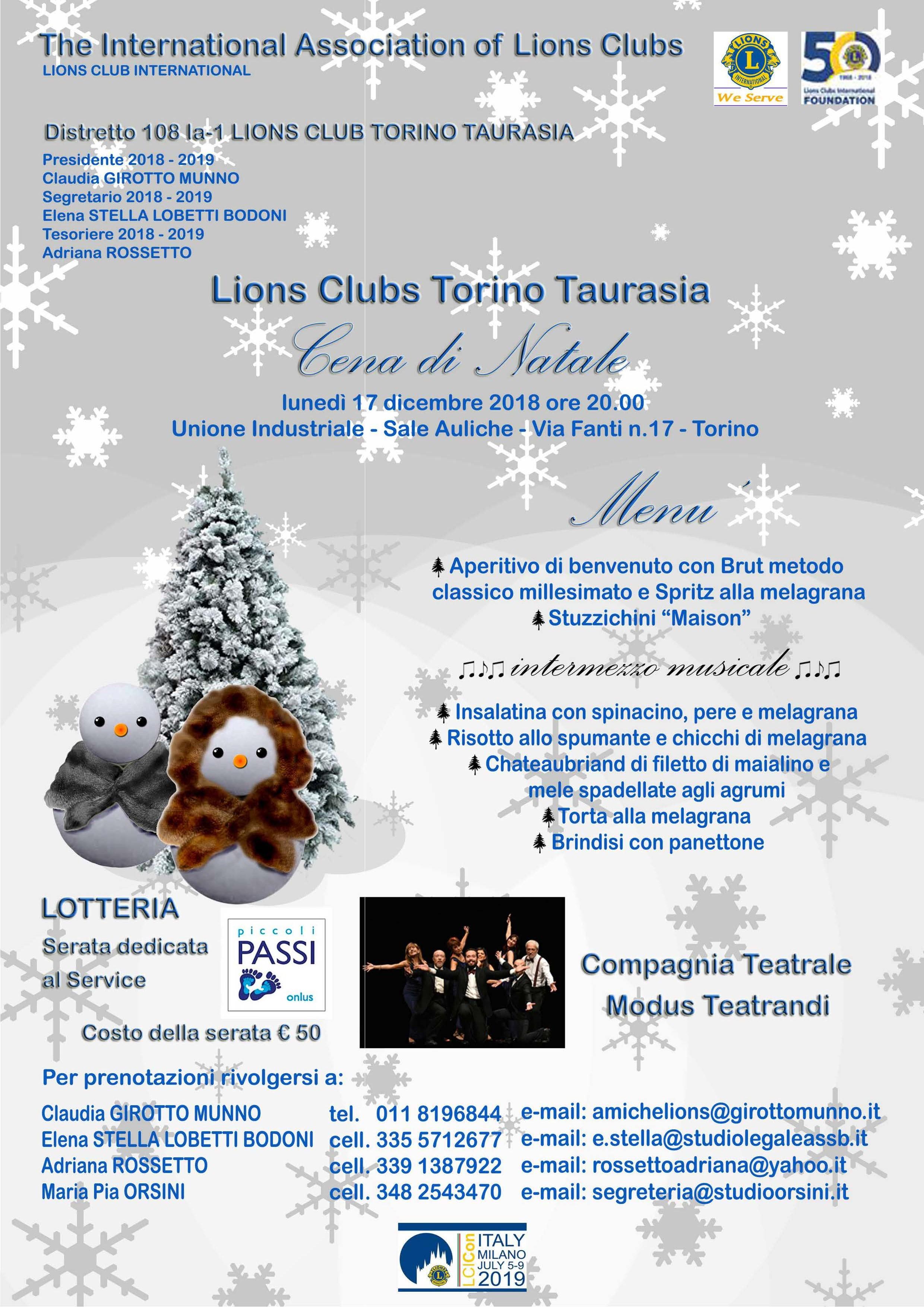 Auguri Di Natale Yahoo.Newsletter Distretto Lions 108 Ia1